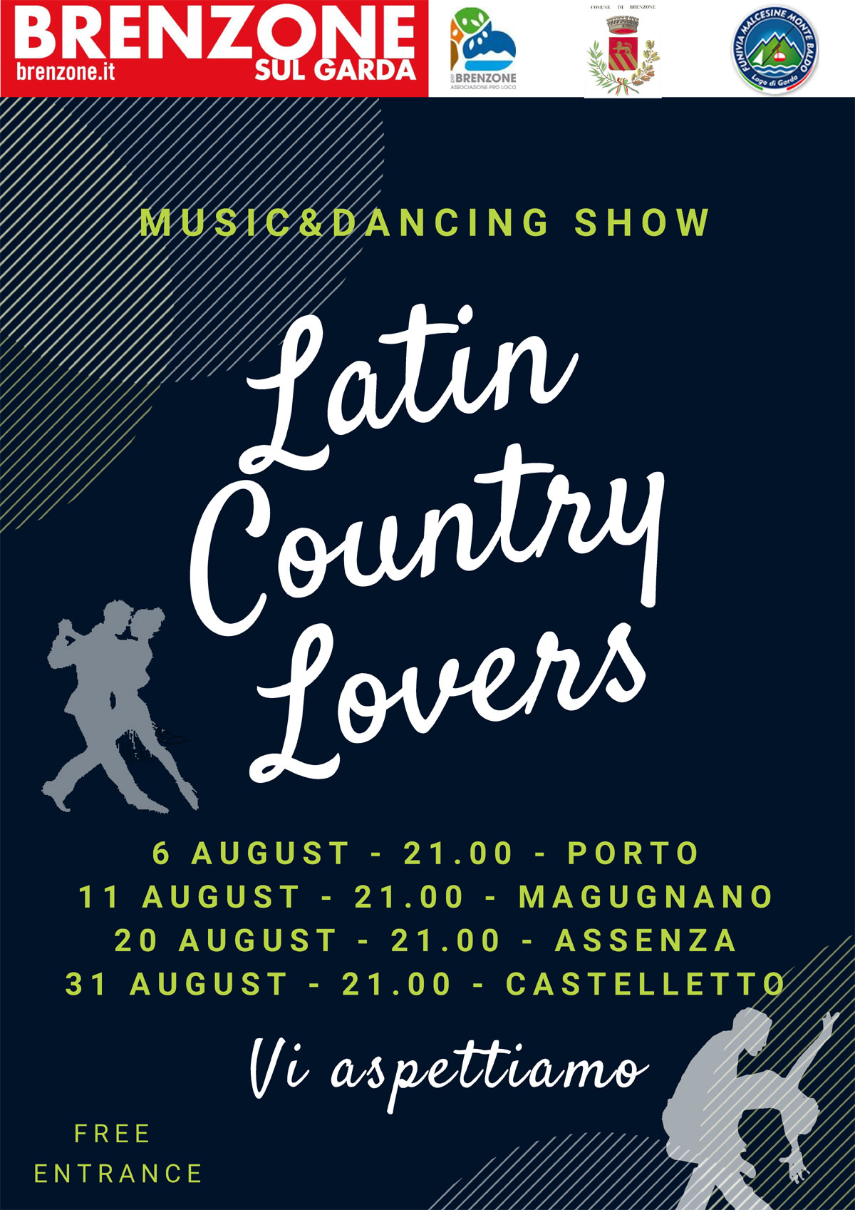 Latin Country Lovers - Musik- und Tanzshow: 17. und 31. Juli, 11. und 31. August