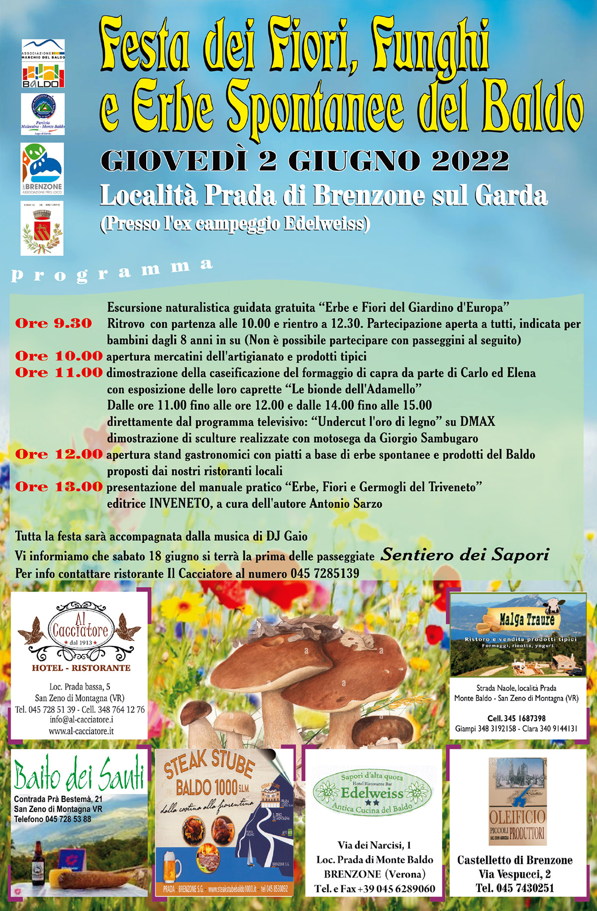 Blumenfest in Prada am 2. Juni 2018