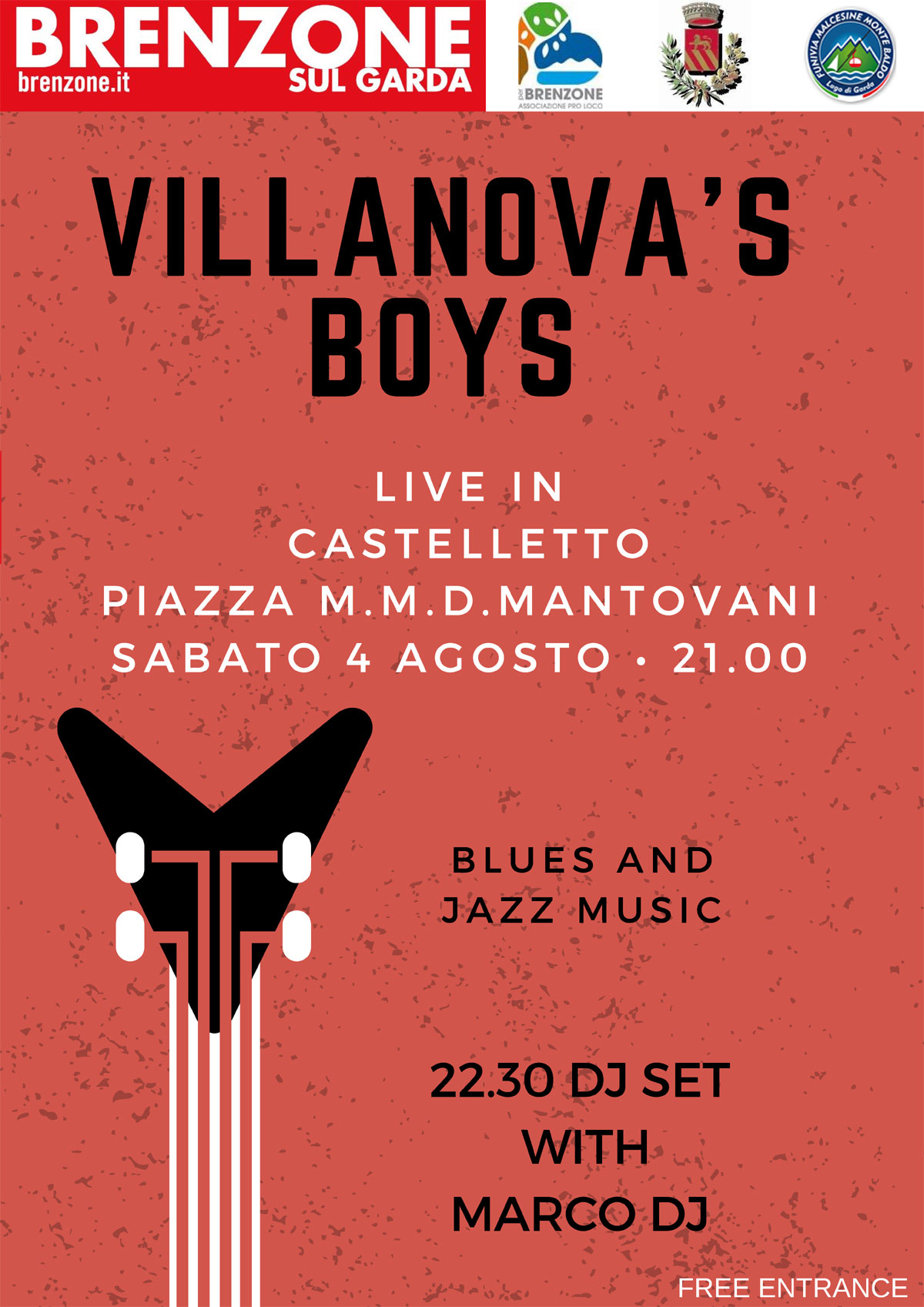 Villanova's boys - Konzert am 04.08.2018